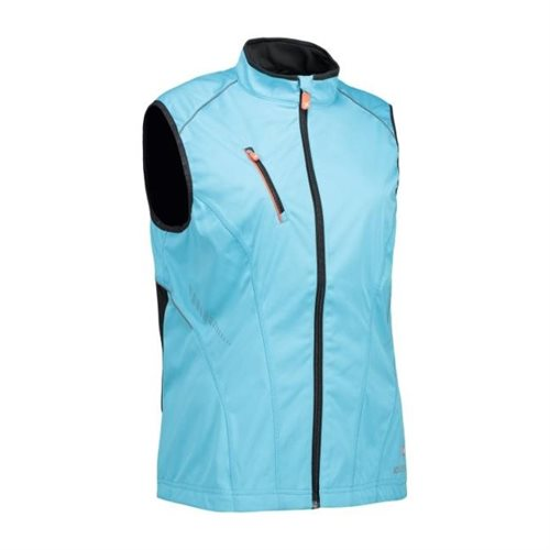 Woman Softshell Running Vest
